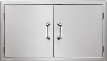 """Vintage VAD XX"""" Double Access Doors in Stainless Steel"""