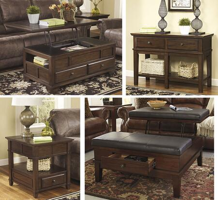 Milo Italia TA625CSOCE Kristopher Living Room Table Sets