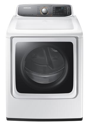 Samsung DV56H9000T 9.5 cu. ft. Super Capacity Front Load Dryer with 15 Cycles, Steam Dry, Vent Sensor, Dryer Rack, Sensor Dry Moisture Sensors, and Smart Care, in White