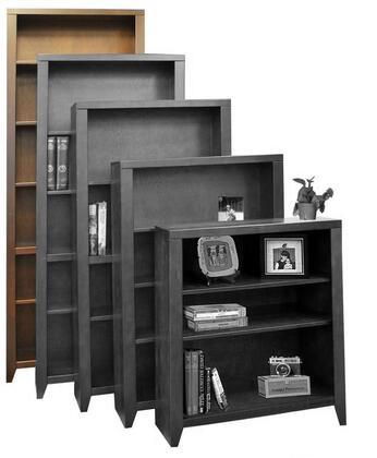 Legends Furniture UL6684MOC Urban Loft Series Wood 5 Shelves Bookcase