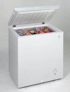 Avanti CF1510  White Chest Counter Depth Freezer with 5.2 cu. ft. Capacity