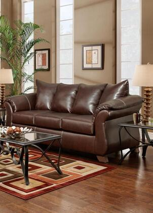 Chelsea Home Furniture 6703TM Verona IV Series Stationary Fabric Sofa