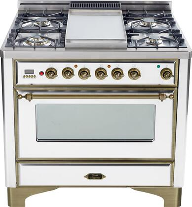 Ilve UM906VGGBY Majestic Series Gas Freestanding
