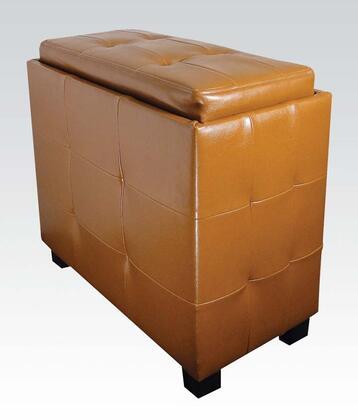 Acme Furniture 96100 Zeno Series Transitional  Ottoman