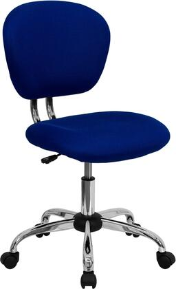 """Flash Furniture H2376FBLUEGG 23.5"""" Adjustable Contemporary Office Chair"""
