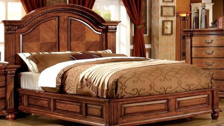 Furniture of America CM7738QBED Bellagrand Series  Queen Size Bed