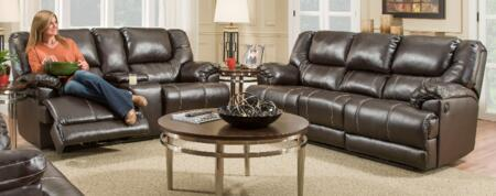 Simmons Upholstery 50451BR6563BINGOBROWN Bingo Living Room S