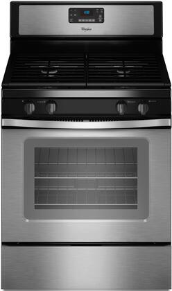 "Whirlpool WFG520S0AS 30"" Gas Freestanding"