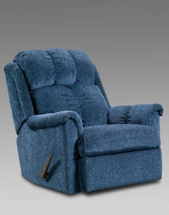 Chelsea Home Furniture 2100TBL Verona IV Series Transitional Fabric Wood Frame Rocking Recliners