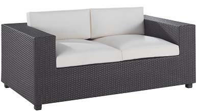 Global Furniture USA S909L Contemporary Patio Love Seat