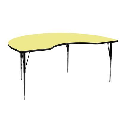 Flash Furniture XUA4872KIDNYYELTAGG