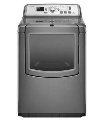Maytag MEDB950YG Bravos XL Series 7.3 cu. ft. Electric Dryer, in Grey