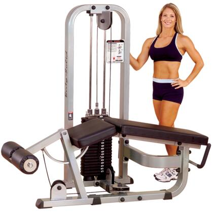 Body Solid SLC400G ProClub Leg Curl with Steel Mainframe and Tear-Resistant DuraFirm Padding