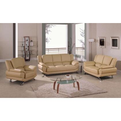 Global furniture usa 9908capslc contemporary leather for Living room furniture 0 finance