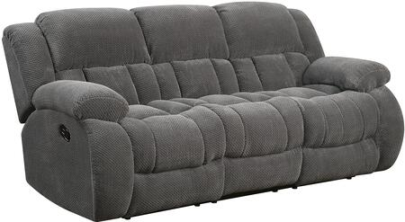 Coaster 601921 Weissman Series Reclining Fabric Sofa