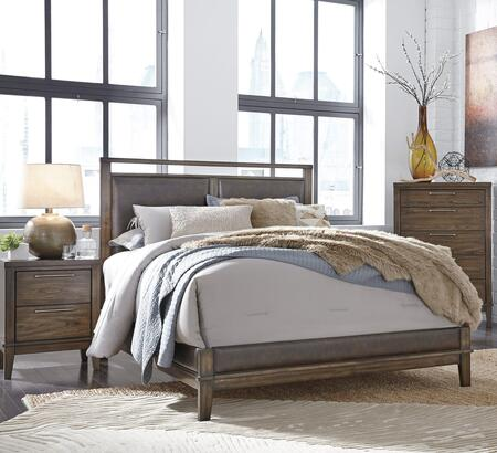 Signature Design by Ashley B5482PCQP2DNKIT1 Zilmar Queen Bed