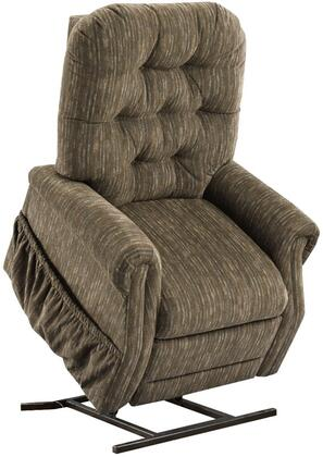 MedLift 2553TBC Contemporary Fabric Wood Frame  Recliners