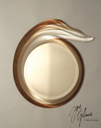 Nova CSM13RB Shoot the Curl Series Round Portrait Wall Mirror