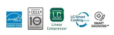 LG LFXC24726S, 36 Counter Depth Refrigerator - Appliances Connection