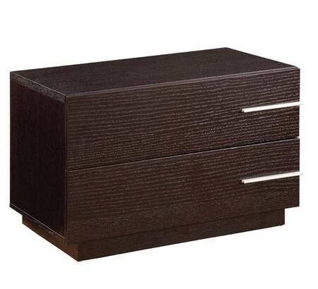 Global Furniture USA METRONS Metro Series Rectangular Wood Night Stand