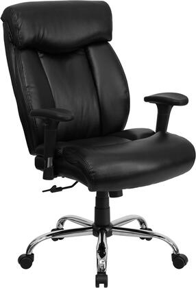 "Flash Furniture GO1235BKLEAAGG 29"" Contemporary Office Chair"