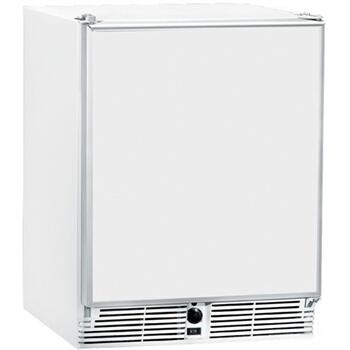 U-Line CO29WHTP20 1000 Series White Compact Refrigerator with 2.1 cu. ft. Capacity