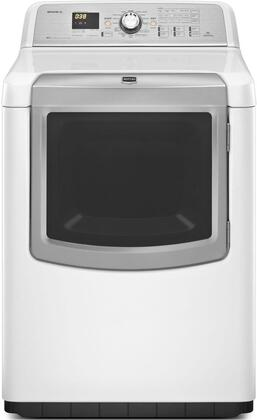 Maytag MEDB980BW Bravos XL Series 7.3 cu. ft. Electric Dryer, in White