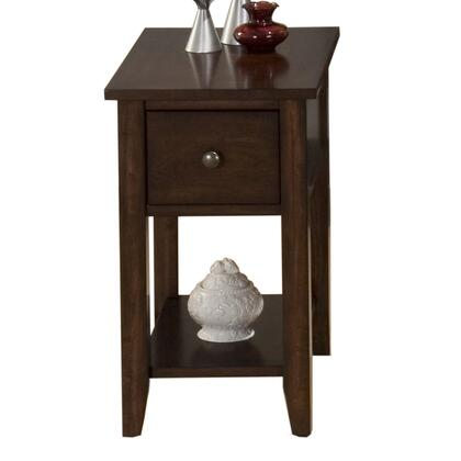 Jofran 3547 Transitional Rectangular 1 Drawers End Table