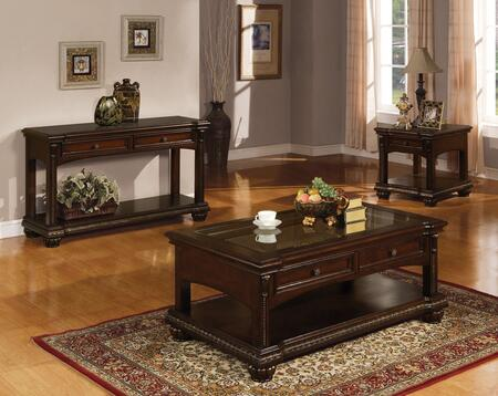 Acme Furniture 10322CES Anondale Living Room Table Sets