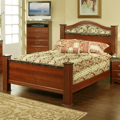 Sandberg 330H Durban Series  California King Size Poster Bed