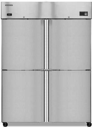 Hoshizaki CF2BHS 47.0 cu. ft. Solid Half Door Commercial Reach In Freezer