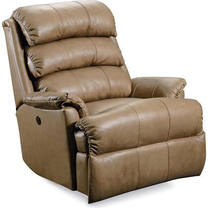 """Lane Furniture Revive Collection 11958P/23-xx/5123-xx 38"""" Power Zero Gravity Rocker Recliner with Leather Upholstery, Stitched Detailing, Plush Padded Arms and Casual Style in"""