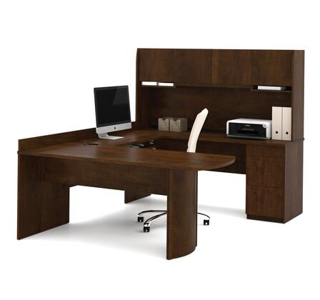 Bestar Furniture 52412 Executive U-shaped workstation