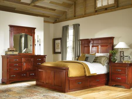 AAmerica KALRM5031Q4P Kalispell Queen Bedroom Sets