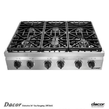 "Dacor DRT366SNGH 36"" Gas Cooktop"