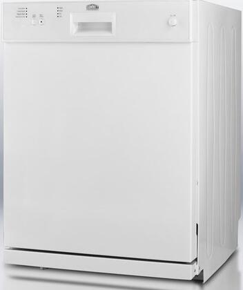 "Summit DW2432 24"" Built-In Full Console Dishwasher"