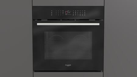 "Fulgor Milano F7SP30x1 30"" 700 Series Single Wall Oven with 4.4 cu. ft. Capacity, Self-Cleaning, Multi-Level Cooking, Meat Probe, Cool Touch Door and Telescopic Rack, in"