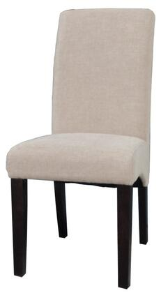 Chintaly MARCELLAPRSSC Marcella Series Contemporary Fabric Wood Frame Dining Room Chair |Appliances Connection