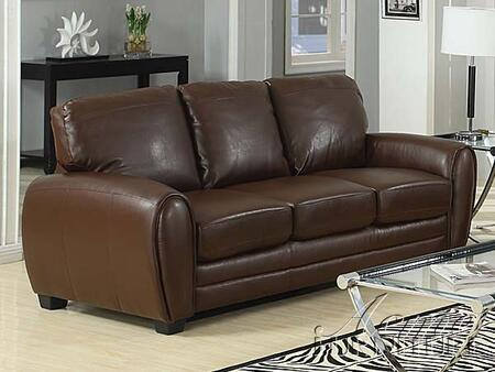 Acme Furniture 15240 Amber Series  Bonded Leather Sofa