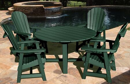 Vifah V1094SET1G Patio Sets