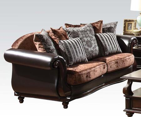 Acme Furniture 50120 Del Rey Series Sofa Fabric Sofa