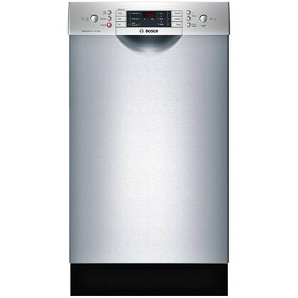 "Bosch SPE68U55UC 18"" 800 Series Built In Full Console Dishwasher with 10 Place Settings Place Settingin Stainless Steel"