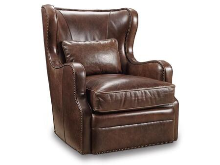 Hooker Furniture CC418-SW-0 Series Traditional-Style Living Room Swivel Club Chair