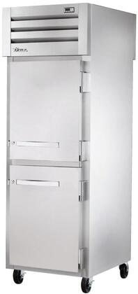 True STG1FPT Spec Series Reach-In Freezer with 34 Cu. Ft. Capacity, LED Lighting, and Half Swing-Doors