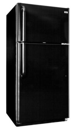 Haier HT18TS77SE  Refrigerator with 18.2 cu. ft. Capacity in Black