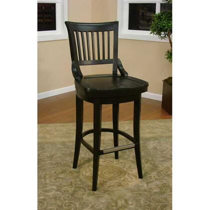 """American Heritage Liberty Series 126755 26"""" Traditional Counter Stool with Full Bearing Swivel, Fully integrated Back Support, and Adjustable Leg Levelers"""