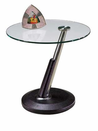 Magnussen 38004 Modesto Series Contemporary/Modern Round End Table