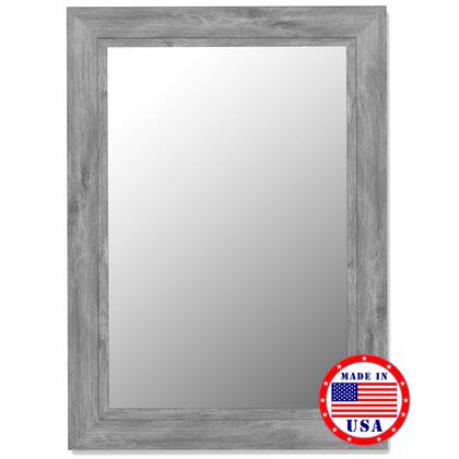 Hitchcock Butterfield 25840X Cameo Mirror in Antique Weathered Grey with Liner