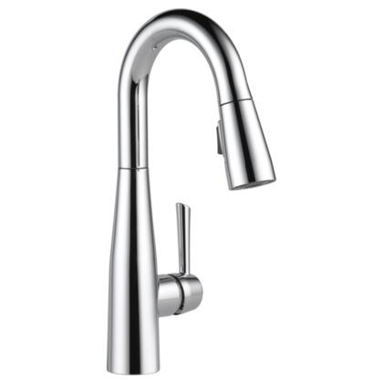 Essa  9913-DST Delta Essa: Single Handle Pull-Down Bar / Prep Faucet in Chrome