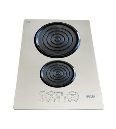 "Kenyon B8020 14"" Silken Series 240 Volt Induction Cooktop with 2 Elements, Lite-Touch Control, Indicator Lights, Easy Clean Up, Spills and Pot Retention, in"